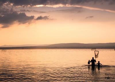 Eines Abends am Balaton