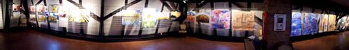 Belvedereschlössl - die Ausstellungsräumlichkeit