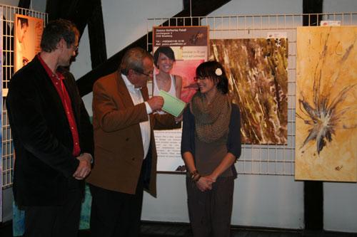 Die erste öffentliche Ausstellung von Jessica-Katharina Poindl