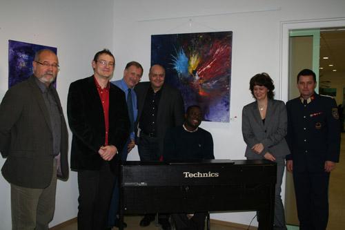 Copartuell mit Künstler und Freunden des Vereins