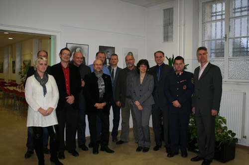 Karin Kormann-Onyeagu, Michael Hendrich, Adolf Achtsnit, Alfred Zach, Manuela Zach und Franz Pluskovich