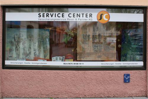 Herzogenburg - eine Stadt ist Galerie: Versicherungsbüro Markus Ressl