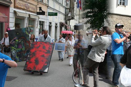Maribor - 100 Jahre Kunst in Bewegung - Berufsvereinigung der bildenden Künstler Österreichs