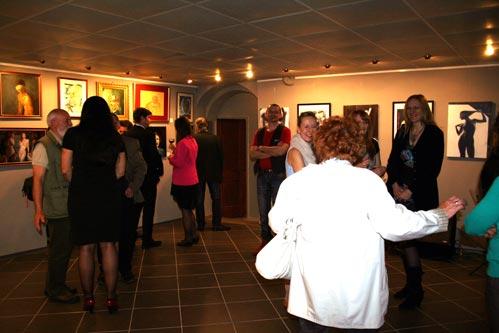 Dieter Poindl - Zahlreicher Besuch in dieser faszinierenden Galerie in Budapest