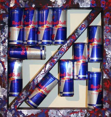 Red Bull Produkt Collage